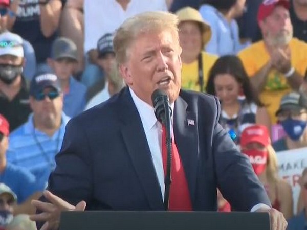 US Presidnt Donald Trump in Florida (Photo/ANI)