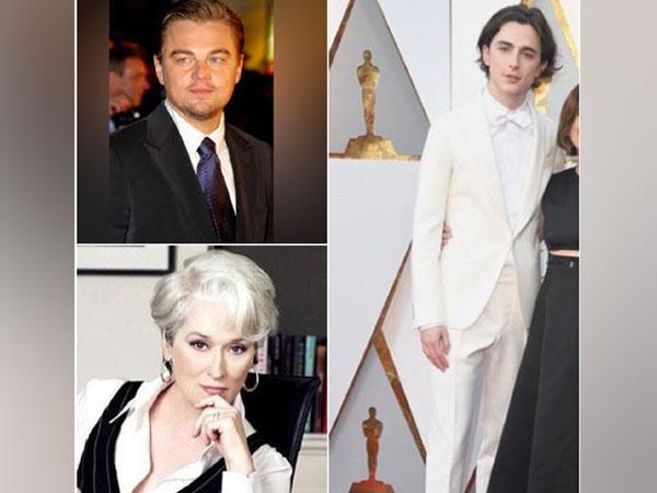 Leonardo DiCaprio, Meryl Streep, Timothee Chalamet