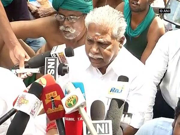 Tamil Nadu Agriculture Minister Thiru R Doraikannu (File Photo/ANI)