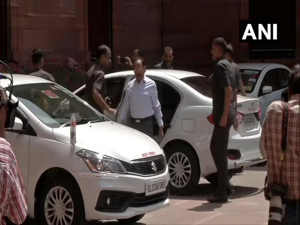 NSA Ajit Doval arrives at North Block to attend internal security meeting called by HM Amit Shah