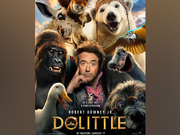 Poster of 'Dolittle', Image courtesy: Instagram