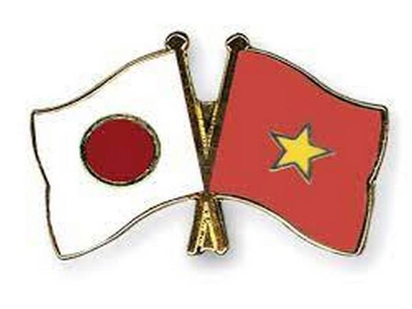 Japan, Vietnam flags