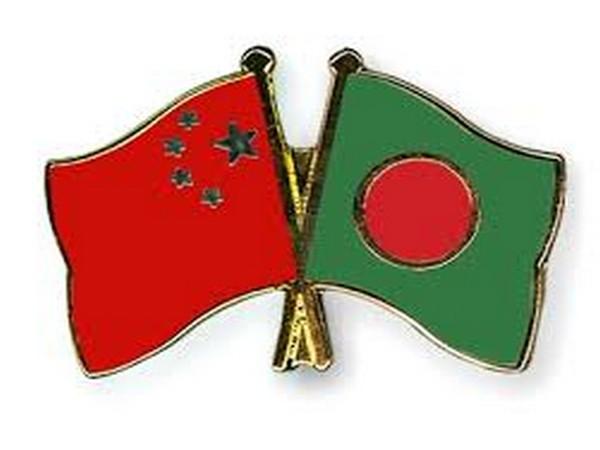 China and Bangladesh flags
