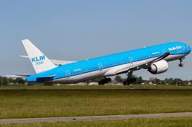KLM airline plane