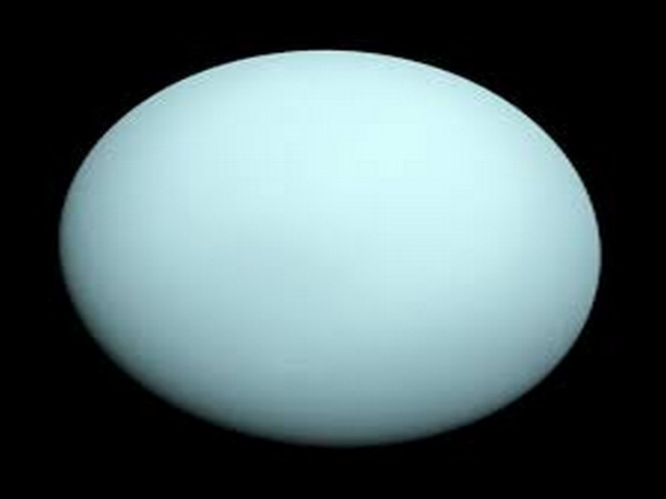 The ice giant Uranus appears to be losing a bit of its atmosphere to space, perhaps siphoned away by the planet's magnetic field.