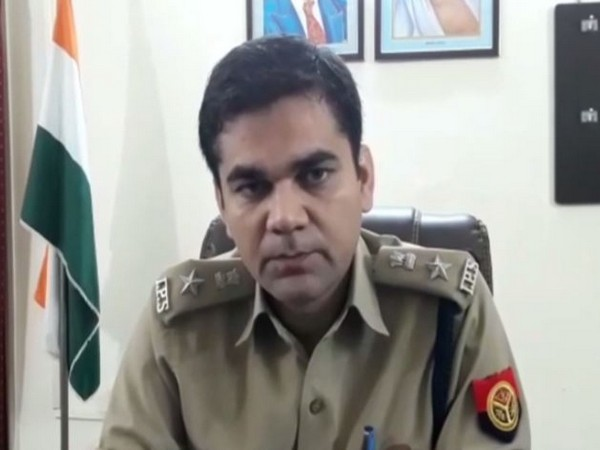 Rampur Superintendent of Police Ajay Sharma speaking to media persons on Wednesday. (Photo/ANI)