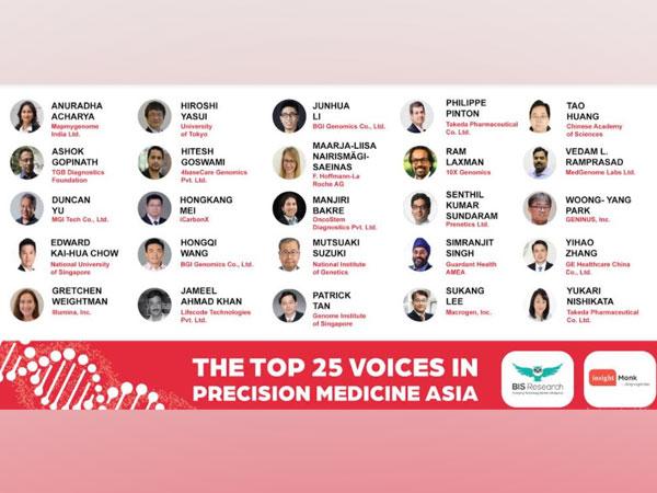 Top 25 Voices in Precision Medicine Asia