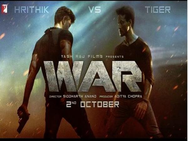 Poster of the film 'WAR' (Image courtesy: Instagram)