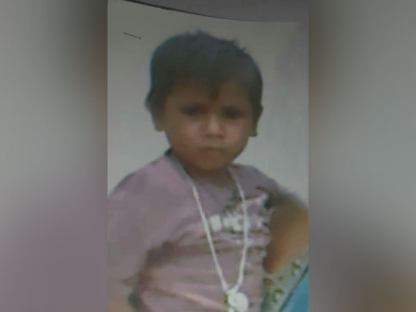 Kumar, the boy who was kidnapped from Hyderabad.