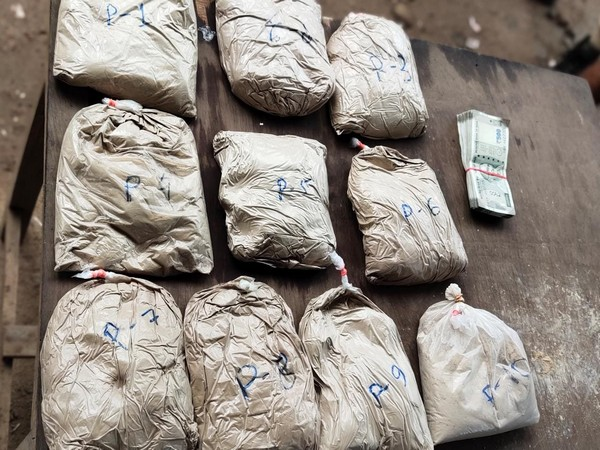 The operation was a part of an ongoing drive against drugs, declared by the state police on June 26. (Photo: Twitter/DGP Assam)