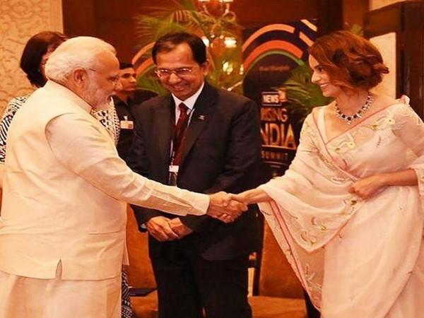 PM Modi, Kangana Ranaut (Image source: Instagram)