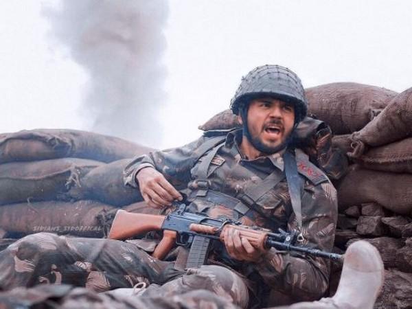 Sidharth Malhotra as Vikram Batra in 'Shershaah' (Image source: Instagram)