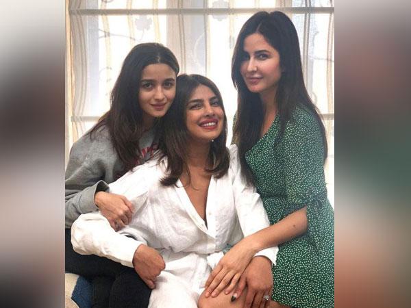 Alia Bhatt, Priyanka Chopra, Katrina Kaif (Image source: Instagram)