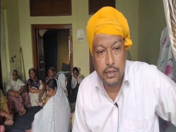 Jatindar Singh, Son of FedEx victim Jaswinder Singh (Photo/ANI)