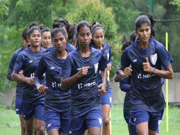 Indian women's football team (Photo/Indian women's football team twitter)