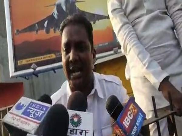 Ajit Borasi, Congress leader and son of Premchand Guddu. (Photo/ANI)