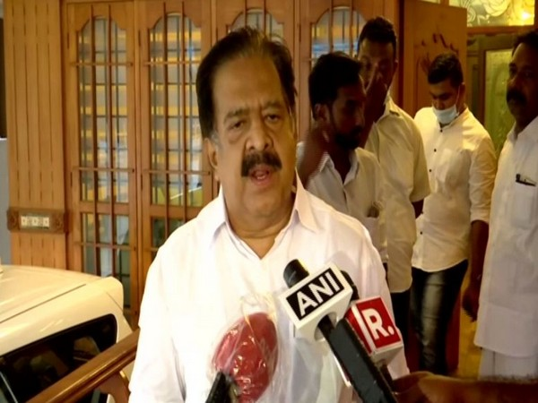 Leader of Opposition in Kerala Assembly Ramesh Chennithala. [Photo/ANI]