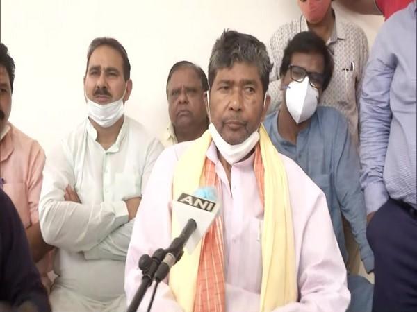 Newly-elected Lok Janshakti Party (LJP) national president Pashupati Kumar Paras speaking to ANI on Friday.