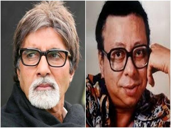Amitabh Bachchan and RD Burman (Image source: Twitter)