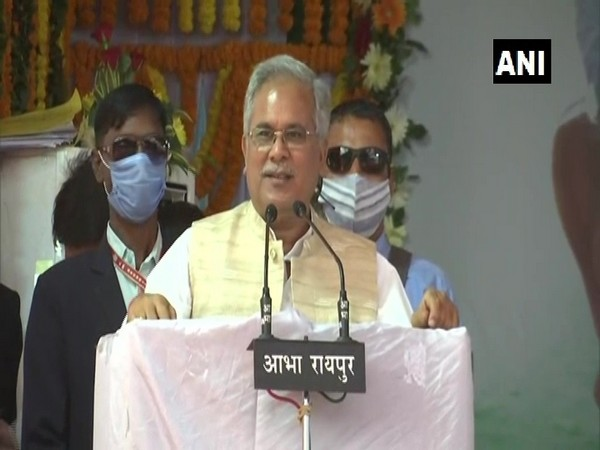 Chhattisgarh Chief Minister Bhupesh Baghel (file pic/ANI).
