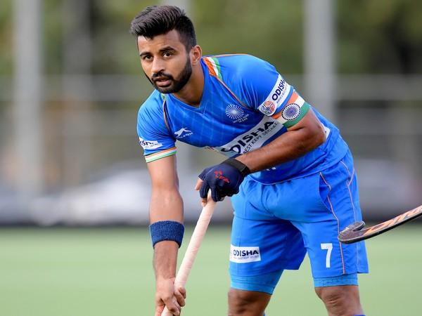 India hockey team skipper Manpreet Singh (Photo/ Hockey India)