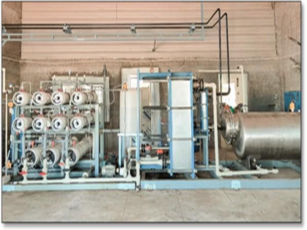 Forward osmosis system installed at Narippaiyur village, Ramanathapuram district, Tamil Nadu (Photo/PIB)