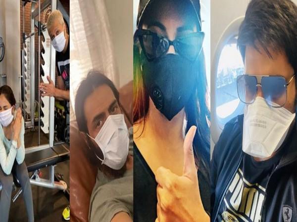Riteish Deshmukh, Genelia Deshmukh, Arjun Rampal, Sonakshi Sinha, and Kapil Sharma (Image courtesy: Instagram)