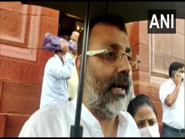BJP MP Nishikant Dubey. (Photo/ ANI)