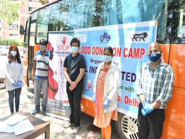 Kanav Dewan at his awareness campaign of thalassemia