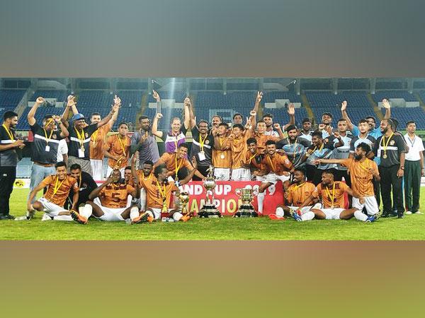 Gokualam Kerela defeated Mohun Bagan 2-1 to lift Durand Cup. (Photo/Indian Football Team Twitter)