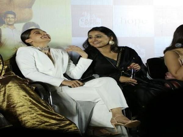 Taapsee Pannu and Vidya Balan, Image courtesy: Instagram
