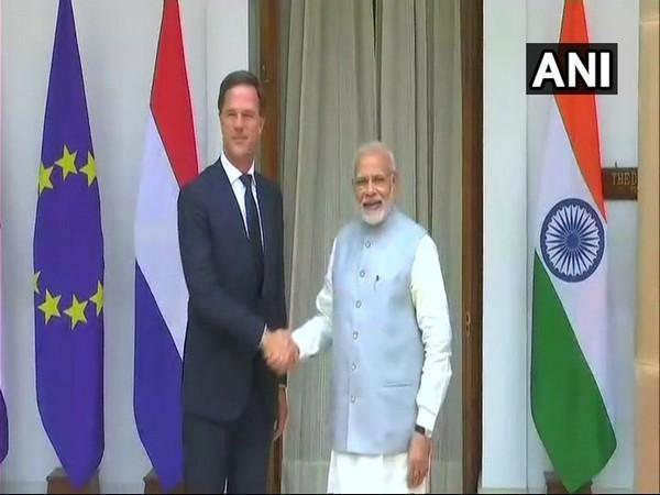 Dutch PM Mark Rutte with Prime Minister Narendra Modi (file photo)