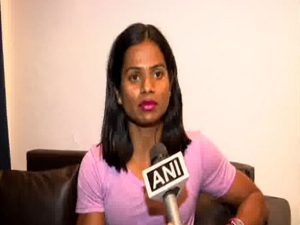 Sprinter Dutee Chand in conversation with ANI