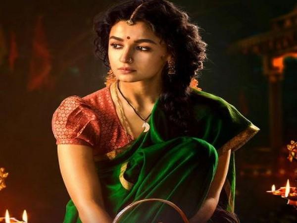 Glimpse of Alia Bhatt as Sita in 'RRR' (Image source: Instagram)