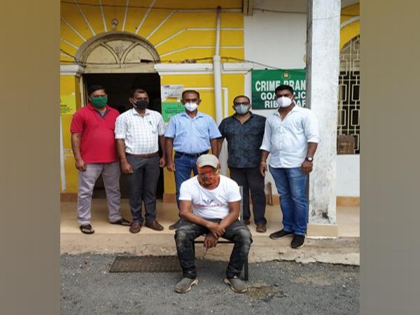 Goa Crime Branch team with accused. (Phoo/ANI)