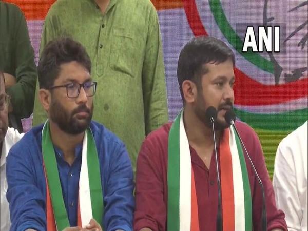Kanhaiya Kumar joins Congress (Photo/ANI)