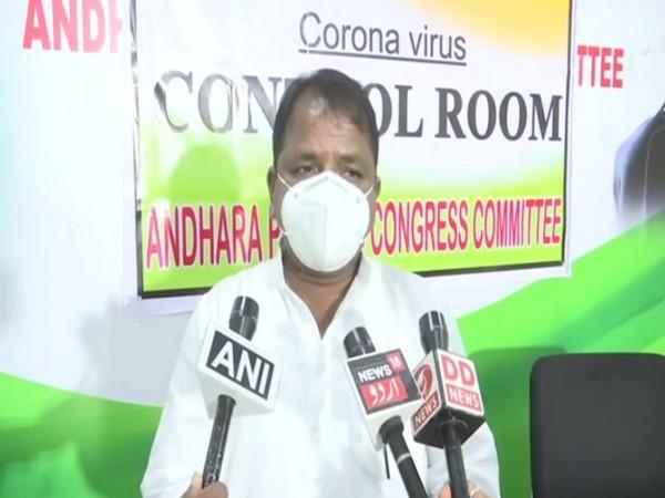 Andhra Pradesh Congress Committee President Dr Sake Sailajanath (Photo/ANI)