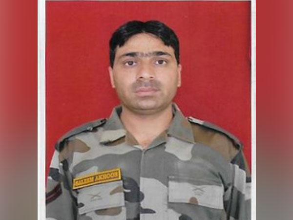 Soldier Mohammad Saleem Akhoon.