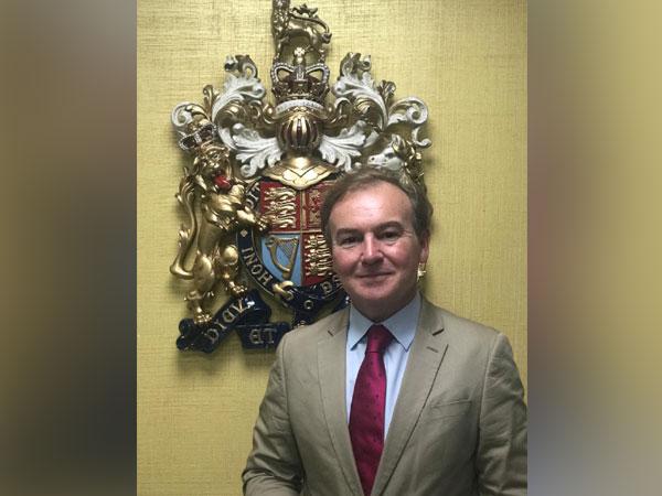 British Deputy High Commissioner in Bengaluru Jeremy Pilmore-Bedford
