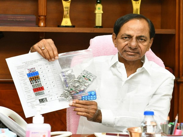 Telangana CM K Chandrasekhar Rao
