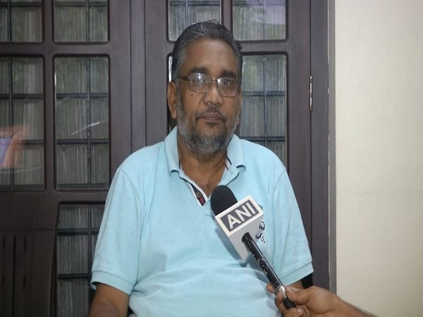 Kerala BJP Vice President KS Radhakrishnan in conversation with ANI. (Photo/ANI)