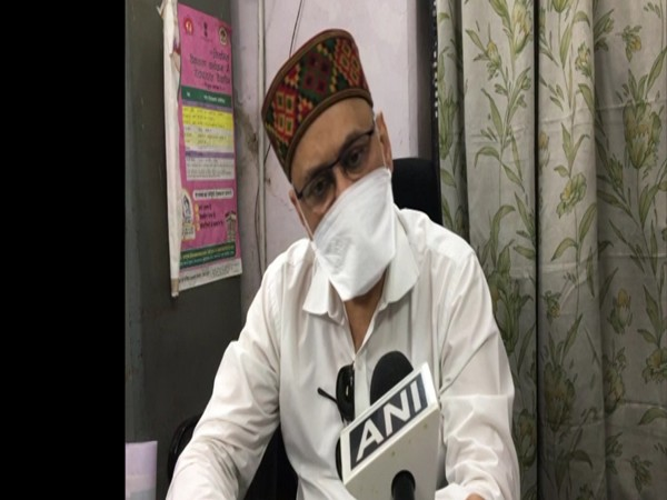District Immunisation Officer (DIO) Praveen Jadiya speaking to ANI on Monday.
