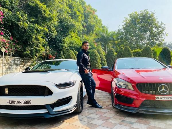 Entrepreneur Ajay Singh Tanwar
