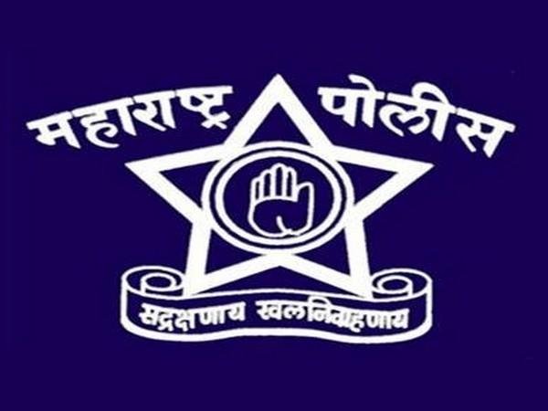 Maharashtra police logo. Photo/Twitter