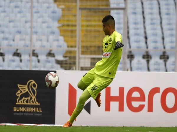 Indian Arrows goalkeeper Ahaan Prakash (Photo/ AIFF)