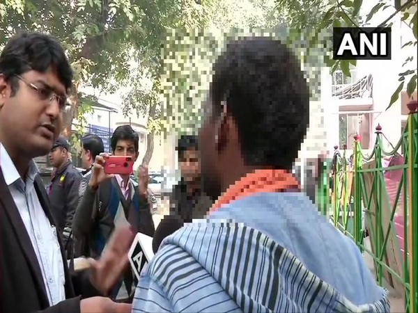 Unnao rape victim's brother speaking to ANI on Saturday in New Delhi. (Photo/ANI)