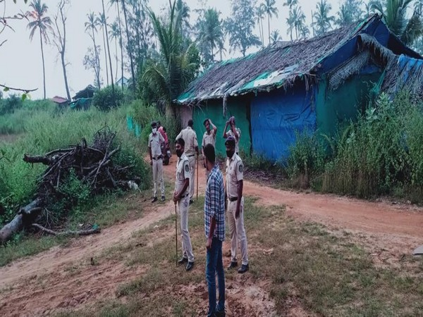 Search opertations were carried out in Goa's Pernem district. (Photo/ANI)