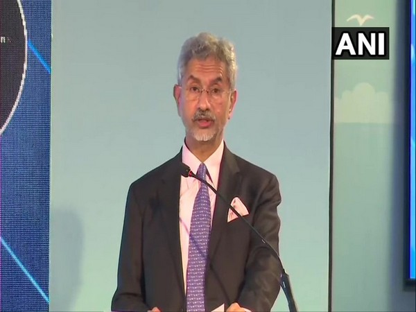 External Affairs Minister S Jaishankar at the Indian Ocean Conference in Maldives on Tuesday. Photo/ANI