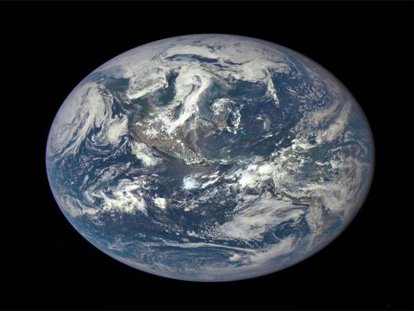 Planet Earth as seen in space (file photo)