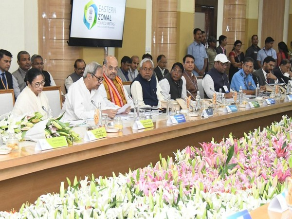 A meeting of Eastern Zonal Council underway in Bhubaneswar on Friday.
